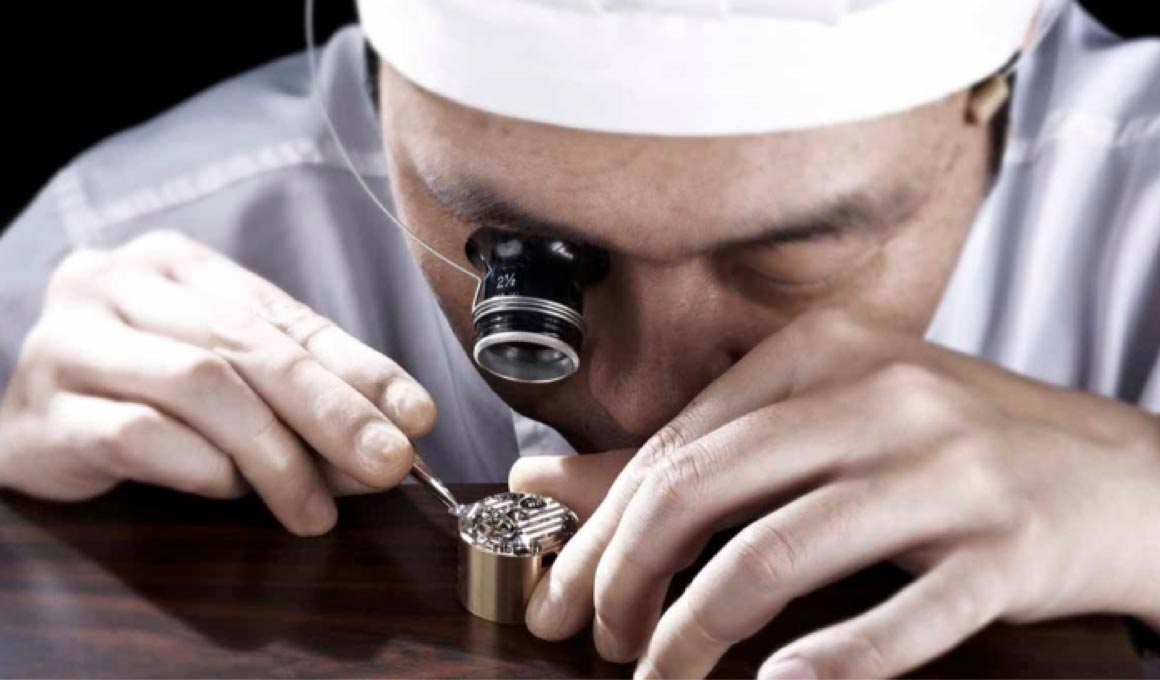 Grand Seiko Watchmaker at Work